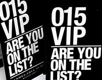 IDENTIDAD VISUAL Evento 015 VIP