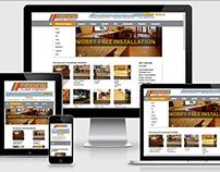 Nadine Floors (website design)