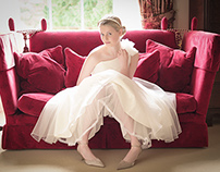 Bridal Fashion Editorial @ Broxmouth Park