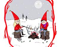 Holiday Illustration Theme: Christmas