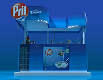 Pril Triple Power booth