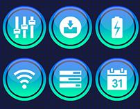 Free Dashboard UI Icons
