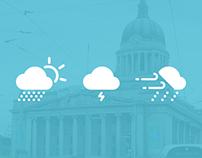 Notts TV Weather Icons