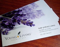 Bussiness Cards Young Living