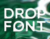Drop Font. Free to download