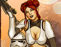 Star Wars Celebration Pinup