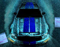 Ford Mustang Shelby GT 500KR Das Car