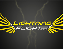 Lightning Flight Logo Animation
