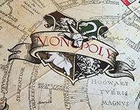 Custom Harry Potter Monopoly Board