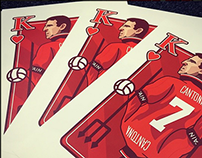 Eric Cantona Playing Card design