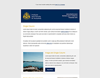 Email template | IFoA