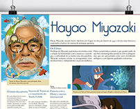 Poster - Hayao Miyazaki