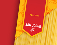 Spaguetti San Jorge Packaging Re-design //
