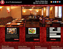 GnTs Restaurant Website Template