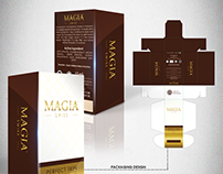 MAGIA SWISS Serum Packaging Design (Project)