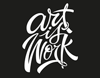 Art is Work T-shirt