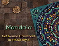 7 Tribal Ornament in ethnic style