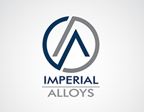 Imperial Alloys Logo + Business Card