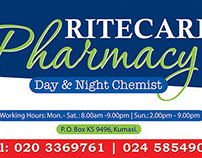Ritecare Pharmacy Sign Design