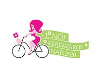 1. Női Kerékpáros Nap logo