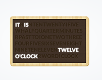 Wordclock