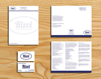Rizvi Construction Branding
