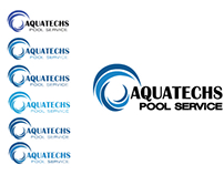 Aquatechs Pool Service Miami Branding and Printing
