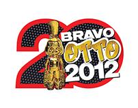 BRAVO OTTO 2012 logo design