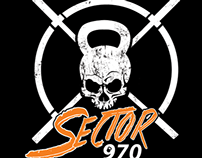 SECTOR 970 CROSSFIt LOGO DESIGN