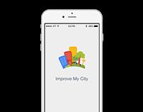 Improve My City iOS app redesign