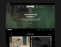 Thrasher Website Redesign