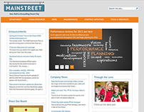MainStreet: Intranet Redesign