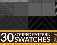 30 Striped Pattern Swatches