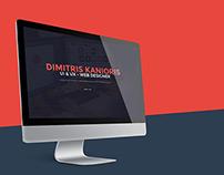 Kanioris Dimitris Online Resume