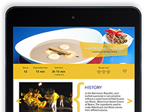 Digital Magazine Recipe App