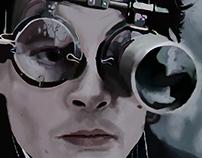 Depp painting