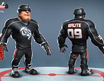 Ice Hockey Character Model