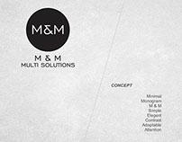 M & M Multi Solutions | Visual Identity