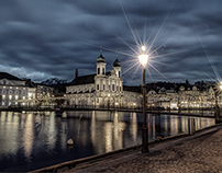 Lucerne by night