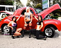 Models and Muscle Cars