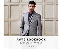 New Look Menswear Lookbook A/W 2013