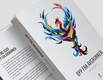 OPP FRA AVGRUNNEN // Book design