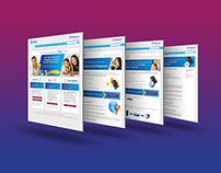 Globe Telecom US corporate homepage redesign