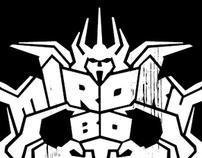 BGX - MIROKUROBOT logotype and applications