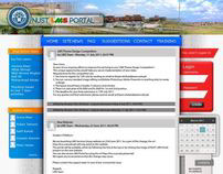 NUST-LMS Theme Design