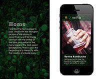 Revive Kombucha Mobile Web Redesign