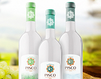 Pisco - branding and packaging
