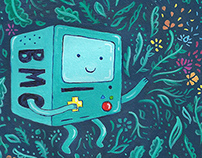 It's BMO Time(Adventure Time Fan Art)