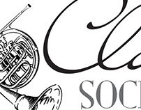Clarion Society Logo & Brochure