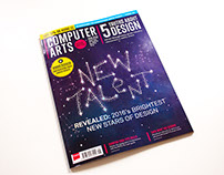 Computer Arts 'New Talent' Cover